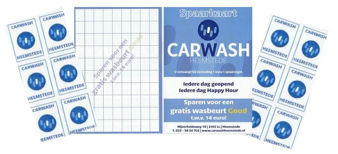 Carwash Heemstede spaarkaart